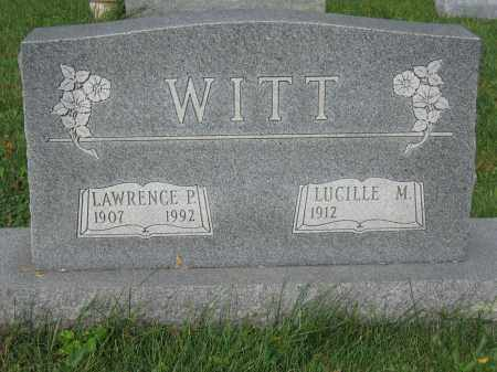 WITT, LAWRENCE P. - Union County, Ohio | LAWRENCE P. WITT - Ohio Gravestone Photos
