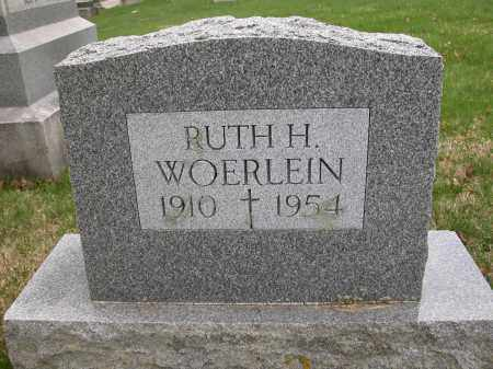 WOERLEIN, RUTH H. - Union County, Ohio | RUTH H. WOERLEIN - Ohio Gravestone Photos