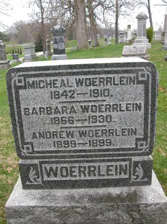 WOERRLEIN, ANDREW - Union County, Ohio | ANDREW WOERRLEIN - Ohio Gravestone Photos
