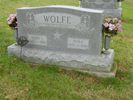 WOLFE, HARRY L. - Union County, Ohio | HARRY L. WOLFE - Ohio Gravestone Photos