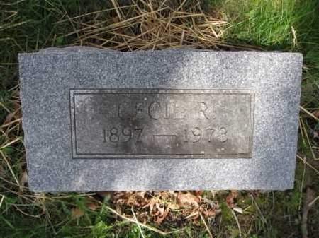 WOLFORD, CECIL R, - Union County, Ohio | CECIL R, WOLFORD - Ohio Gravestone Photos