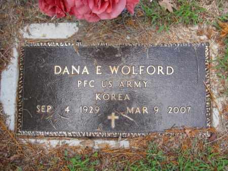 WOLFORD, DANA E. - Union County, Ohio | DANA E. WOLFORD - Ohio Gravestone Photos