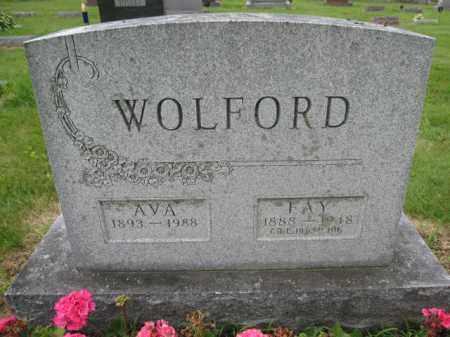 WOLFORD, FAY - Union County, Ohio | FAY WOLFORD - Ohio Gravestone Photos