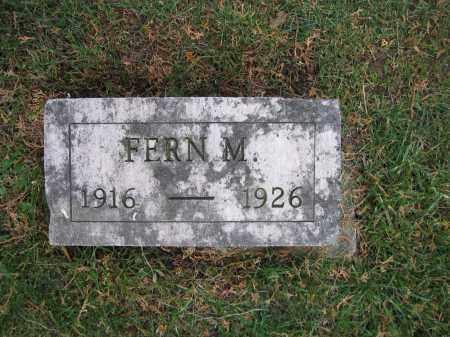 WOLFORD, FERN M. - Union County, Ohio   FERN M. WOLFORD - Ohio Gravestone Photos