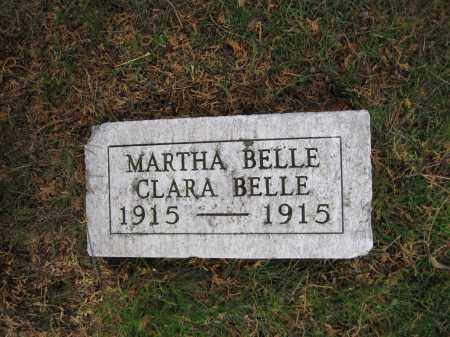 WOLFORD, CLARA BELLA - Union County, Ohio | CLARA BELLA WOLFORD - Ohio Gravestone Photos