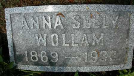 WOLLAM, ANNA SEELY - Union County, Ohio | ANNA SEELY WOLLAM - Ohio Gravestone Photos