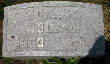 WOLLAM, JOHN W. - Union County, Ohio   JOHN W. WOLLAM - Ohio Gravestone Photos