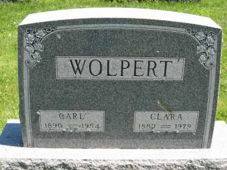 WOLPERT, CARL - Union County, Ohio | CARL WOLPERT - Ohio Gravestone Photos