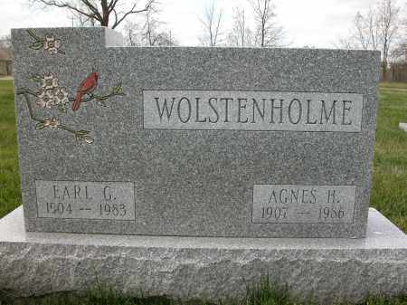 WOLSTENHOLME, EARL G. - Union County, Ohio | EARL G. WOLSTENHOLME - Ohio Gravestone Photos