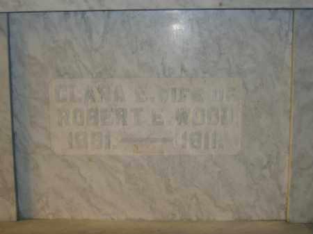 WOOD, CLARA E. - Union County, Ohio | CLARA E. WOOD - Ohio Gravestone Photos