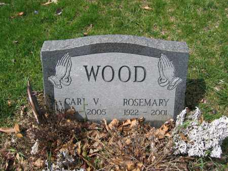 WOOD, CARL V. - Union County, Ohio | CARL V. WOOD - Ohio Gravestone Photos