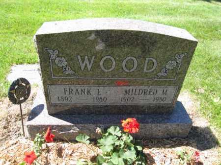 WOOD, FRANK L. - Union County, Ohio | FRANK L. WOOD - Ohio Gravestone Photos