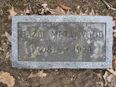 WOOD, HAZEL META - Union County, Ohio   HAZEL META WOOD - Ohio Gravestone Photos