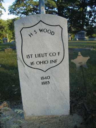 WOOD, H.S. - Union County, Ohio | H.S. WOOD - Ohio Gravestone Photos