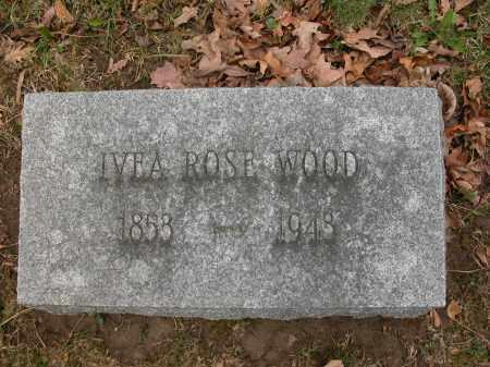 WOOD, IVEA ROSE - Union County, Ohio | IVEA ROSE WOOD - Ohio Gravestone Photos
