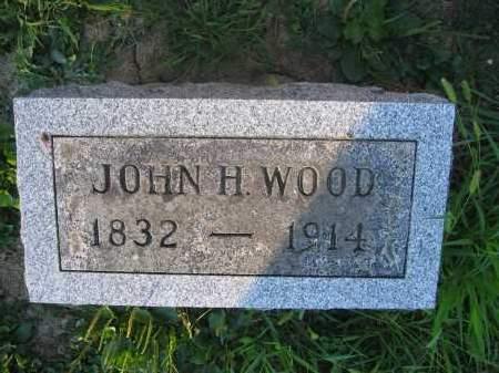WOOD, JOHN H. - Union County, Ohio   JOHN H. WOOD - Ohio Gravestone Photos