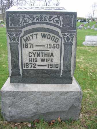 WOOD, MITT - Union County, Ohio | MITT WOOD - Ohio Gravestone Photos