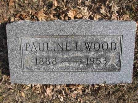 WOOD, PAULINE L. - Union County, Ohio | PAULINE L. WOOD - Ohio Gravestone Photos