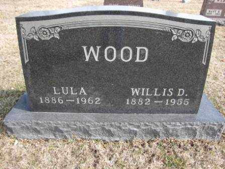 WOOD, LULA - Union County, Ohio | LULA WOOD - Ohio Gravestone Photos