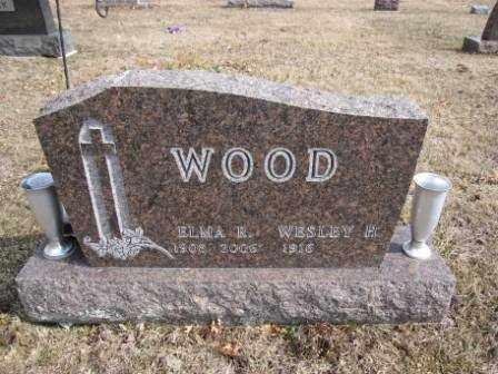 WOOD, ELMA R. - Union County, Ohio   ELMA R. WOOD - Ohio Gravestone Photos