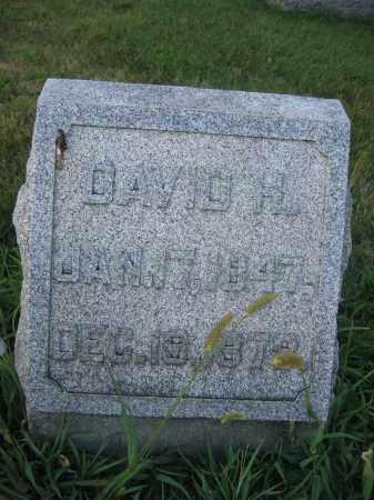 WOODBURN, DAVID H. - Union County, Ohio | DAVID H. WOODBURN - Ohio Gravestone Photos