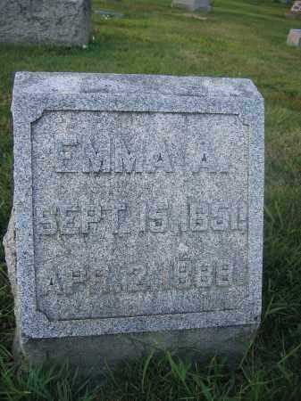 WOODBURN, EMMA A. - Union County, Ohio | EMMA A. WOODBURN - Ohio Gravestone Photos