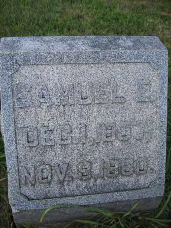 WOODBURN, SAMUEL E. - Union County, Ohio | SAMUEL E. WOODBURN - Ohio Gravestone Photos