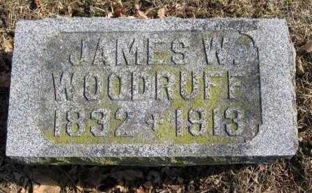 WOODRUFF, JAMES W. - Union County, Ohio   JAMES W. WOODRUFF - Ohio Gravestone Photos