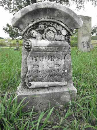 WOODS, ISSADORE E. - Union County, Ohio | ISSADORE E. WOODS - Ohio Gravestone Photos