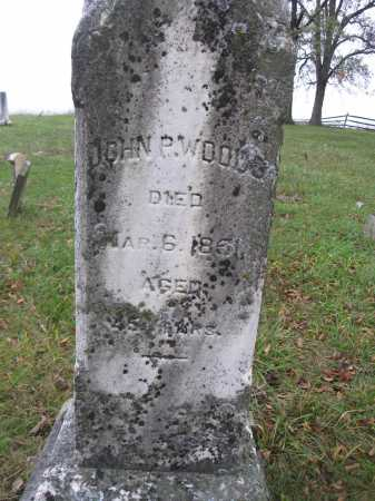 WOODS, JOHN P. - Union County, Ohio | JOHN P. WOODS - Ohio Gravestone Photos
