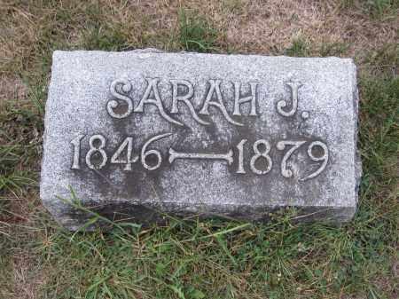WOODS, SARAH J. - Union County, Ohio | SARAH J. WOODS - Ohio Gravestone Photos