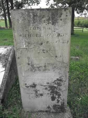 WOODS, SAMUEL - Union County, Ohio   SAMUEL WOODS - Ohio Gravestone Photos