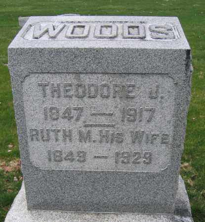 WOODS, THRODORE J. - Union County, Ohio | THRODORE J. WOODS - Ohio Gravestone Photos