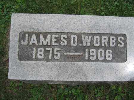 WORBS, JAMES D. - Union County, Ohio   JAMES D. WORBS - Ohio Gravestone Photos