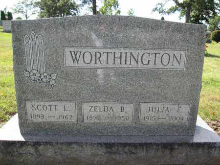 WORTHINGTON, SCOTT L. - Union County, Ohio | SCOTT L. WORTHINGTON - Ohio Gravestone Photos