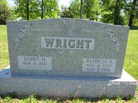 WRIGHT, PATRICIA A. - Union County, Ohio | PATRICIA A. WRIGHT - Ohio Gravestone Photos