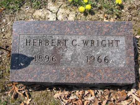 WRIGHT, HERBERT C. - Union County, Ohio | HERBERT C. WRIGHT - Ohio Gravestone Photos
