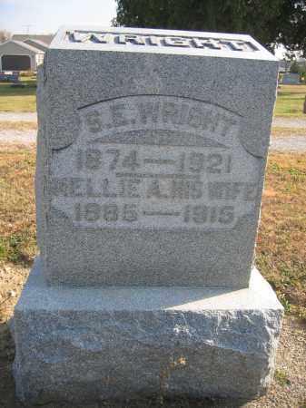 WRIGHT, S.E - Union County, Ohio | S.E WRIGHT - Ohio Gravestone Photos