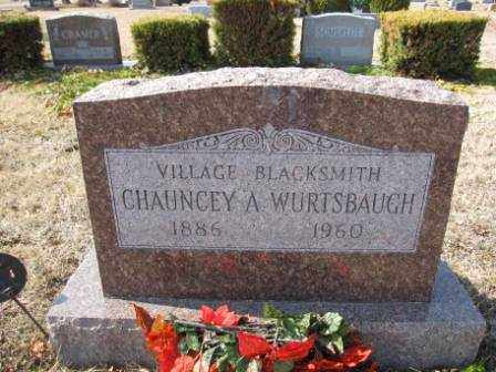 WURTSBAUGH, CHAUNCEY A. - Union County, Ohio | CHAUNCEY A. WURTSBAUGH - Ohio Gravestone Photos