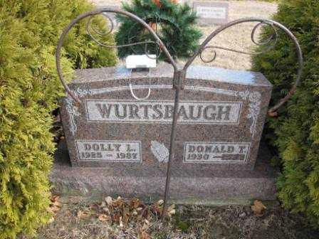WURTSBAUGH, DOLLY L. - Union County, Ohio | DOLLY L. WURTSBAUGH - Ohio Gravestone Photos