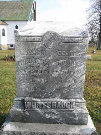 WURTSBAUGH, THOMAS P. - Union County, Ohio | THOMAS P. WURTSBAUGH - Ohio Gravestone Photos