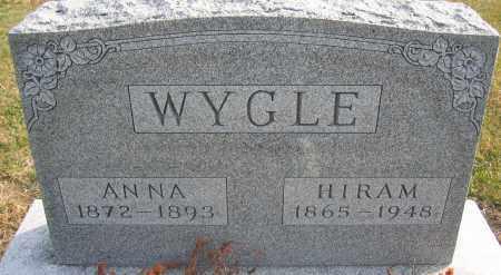 WYGLE, HIRAM - Union County, Ohio   HIRAM WYGLE - Ohio Gravestone Photos