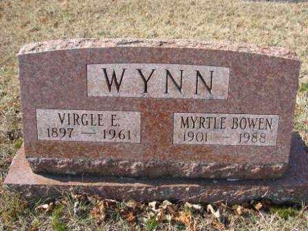 WYNN, MYRTLE BOWEN - Union County, Ohio | MYRTLE BOWEN WYNN - Ohio Gravestone Photos