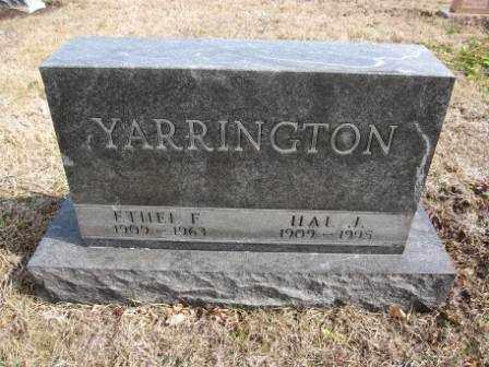 YARRINGTON, ETHEL F. - Union County, Ohio | ETHEL F. YARRINGTON - Ohio Gravestone Photos