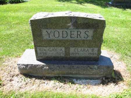 YODERS, CLARA B. - Union County, Ohio | CLARA B. YODERS - Ohio Gravestone Photos
