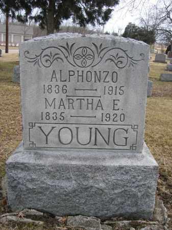 YOUNG, ALPHONZO - Union County, Ohio | ALPHONZO YOUNG - Ohio Gravestone Photos