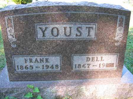 YOUST, FRANK - Union County, Ohio | FRANK YOUST - Ohio Gravestone Photos