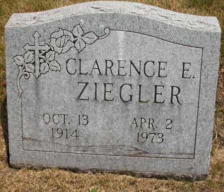 ZIEGLER, CLARENCE E. - Union County, Ohio | CLARENCE E. ZIEGLER - Ohio Gravestone Photos