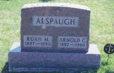 ALSPAUGH, RUAH MILDRED - Van Wert County, Ohio | RUAH MILDRED ALSPAUGH - Ohio Gravestone Photos