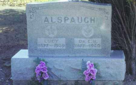 ALSPAUGH, LUCY - Van Wert County, Ohio | LUCY ALSPAUGH - Ohio Gravestone Photos